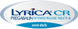 LYRICA® CR (pregabalin) Extended Release Tablets logo
